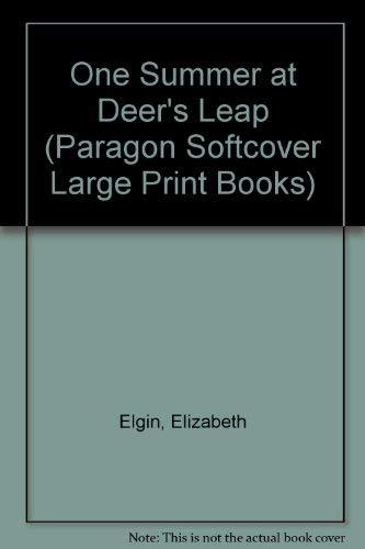 One Summer at Deer's Leap (Windsor Selection) (9780754023050) by Elizabeth Elgin
