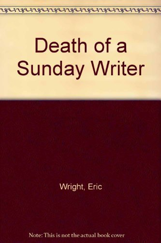 9780754030973: Death of a Sunday Writer