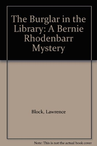 9780754031574: Burglar in the Library, The (Bernie Rhodenbarr Mystery S.)