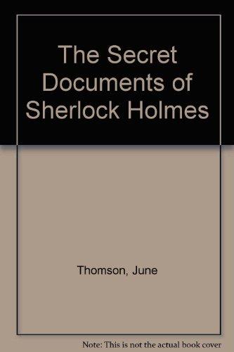 9780754035596: The Secret Documents of Sherlock Holmes