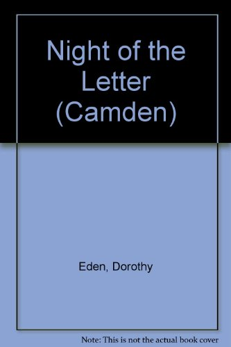 Night of the Letter (Camden) (0754039161) by Dorothy Eden