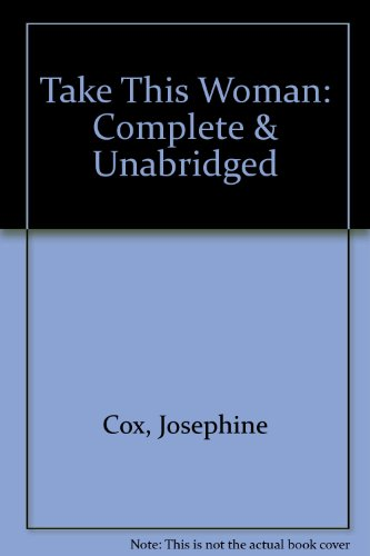 Take This Woman (9780754053774) by Cox, Josephine