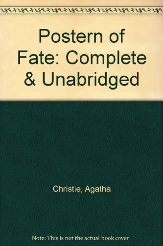 Postern of Fate: Complete & Unabridged (0754054403) by Agatha Christie