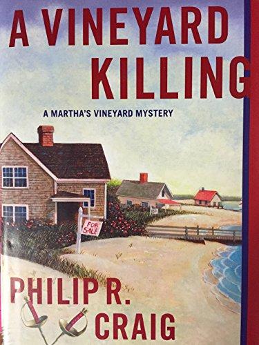 9780754056898: A Vineyard Killing: A Martha's Vineyard Mystery