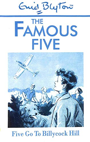 Five Go to Billycock Hill (Galaxy Children's Large Print Books): Blyton, Enid
