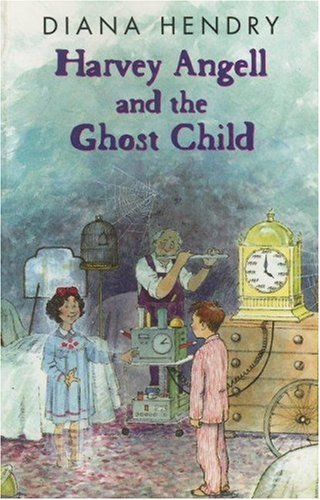 9780754060741: Harvey Angell and the Ghost Child (Galaxy Children's Large Print Books)