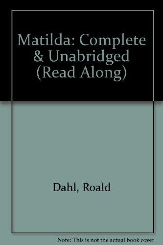 """9780754062165: Matilda: Complete & Unabridged (""""Read Along"""")"""