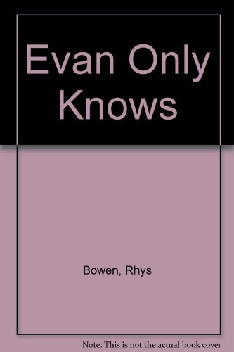 9780754072317: Evan Only Knows
