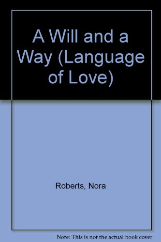 9780754073529: A Will and a Way (Language of Love)