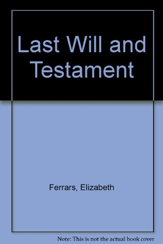 9780754073765: Last Will And Testament