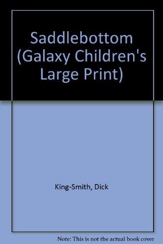 9780754078173: Saddlebottom (Galaxy Children's Large Print)