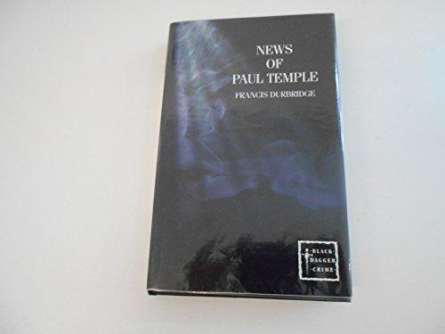 9780754085072: News of Paul Temple (Black Dagger Crime)