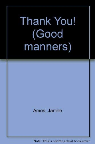 9780754090434: Thank You! (Good manners)