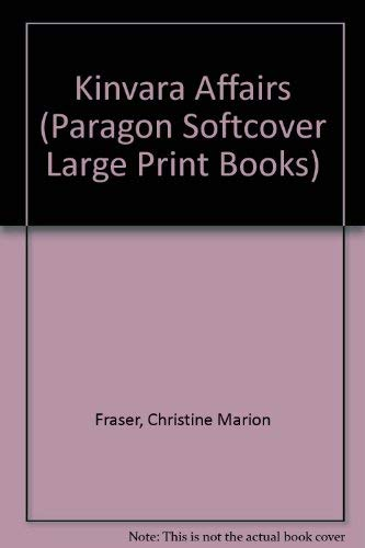 Kinvara Affairs (Paragon Softcover Large Print Books) (9780754091042) by Christine Marion Fraser