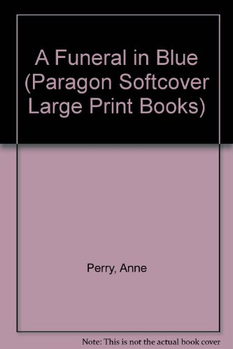 9780754091448: Funeral in Blue (Paragon Softcover Large Print Books)