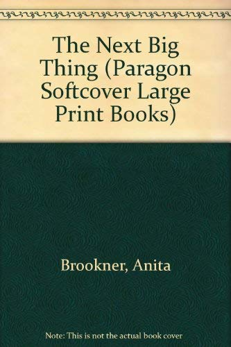 9780754091936: The Next Big Thing (Paragon Softcover Large Print Books)