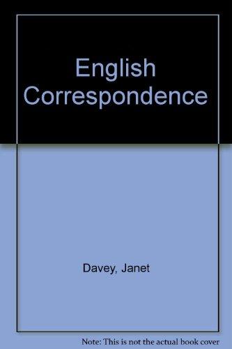 9780754092650: English Correspondence