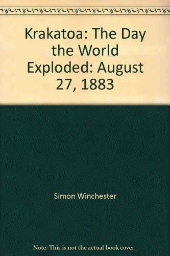 9780754093183: Krakatoa: The Day the World Exploded