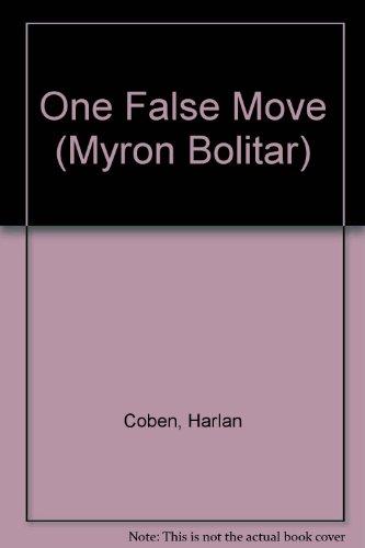 9780754095033: One False Move (Myron Bolitar)