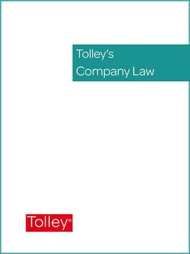 9780754508472: Tolley's Company Law Service