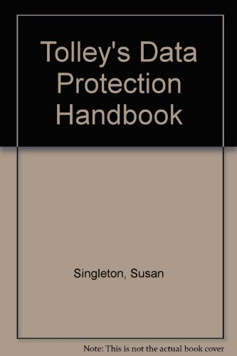 9780754512424: Tolley's Data Protection Handbook