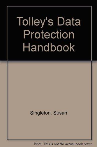 9780754512424: Tolley's Data Protection Handbook