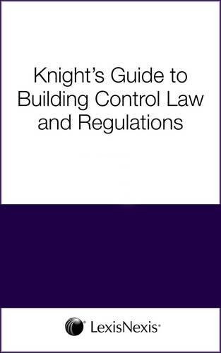 Knight's Guide to Building Regulations (with Approved Documents) (0754514064) by Belshaw, Stephen; Billington, M.J.; Miller, John P.; Higgs, Trevor A.; Rowlands, Margaret; Orman, Nick; Thompson, Eric; Westwood, Terry