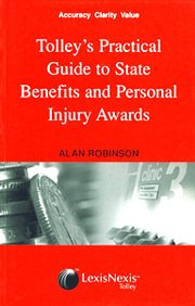 Tolley's Practical Guide to State Benefits and Personal Injury Awards: Kate Tonge
