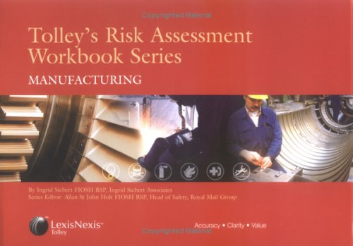9780754518884: Tolley's Risk Assessment Workbook Series: Manufacturing