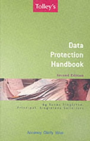 9780754519386: Tolley's Data Protection Handbook