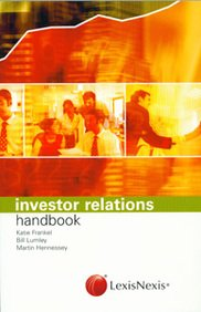 9780754519492: Investor Relations Handbook