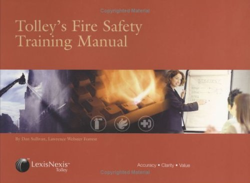 9780754521839: Tolley's Fire Safety Training Manual