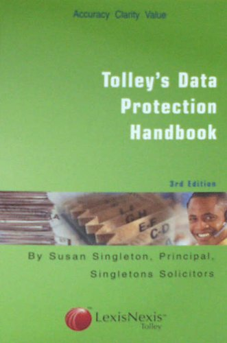 9780754524953: Tolley's Data Protection Handbook