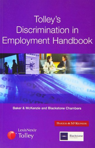 9780754531715: Tolley's Discrimination in Employment Handbook