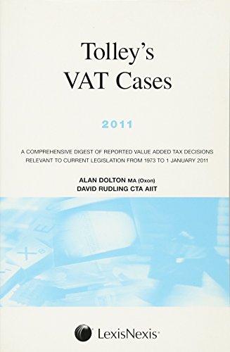 9780754540151: Tolley's Vat Cases