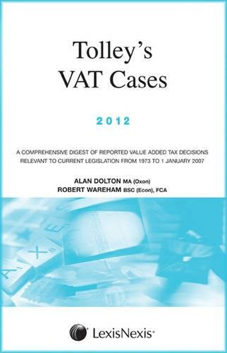 9780754542414: Tolley's Vat Cases