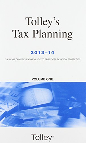 9780754546696: Tolley's Tax Planning