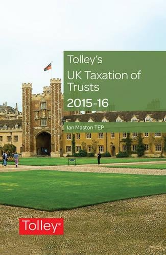 9780754550921: Tolley's UK Taxation of Trusts