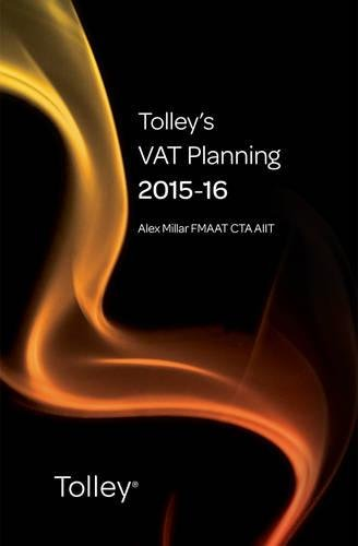 9780754550969: Tolley's VAT Planning 2015-16 (Tolley's Tax Planning Series)