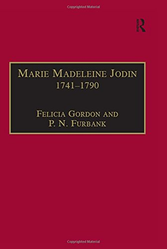 9780754602248: Marie Madeleine Jodin 1741–1790: Actress, Philosophe and Feminist (Women and Gender in the Early Modern World)