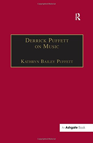 Derrick Puffett on Music (0754603997) by Kathryn Bailey Puffett