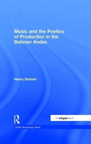 9780754604891: Music and the Poetics of Production in the Bolivian Andes (SOAS Musicology Series)