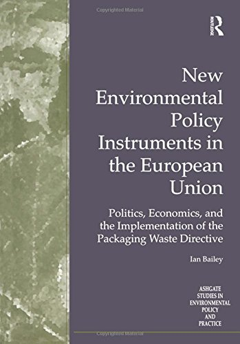 9780754608882: New Environmental Policy Instruments in the European Union: Politics, Economics, and the Implementation of the Packaging Waste Directive (Routledge Studies in Environmental Policy and Practice)