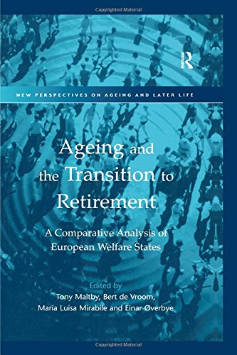 9780754609223: Ageing and the Transition to Retirement: A Comparative Analysis of European Welfare States (New Perspectives on Ageing and Later Life)