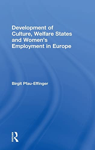 9780754616931: Development of Culture, Welfare States and Women's Employment in Europe