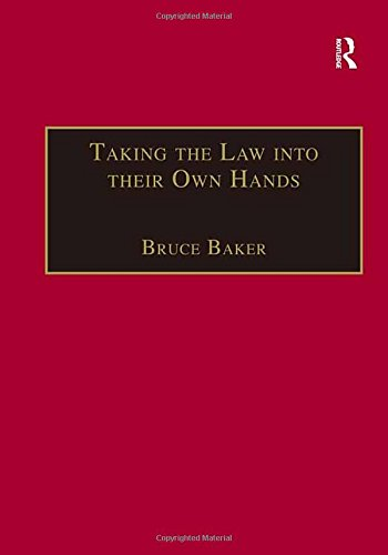 9780754618843: Taking the Law into their Own Hands: Lawless Law Enforcers in Africa (The Making of Modern Africa)
