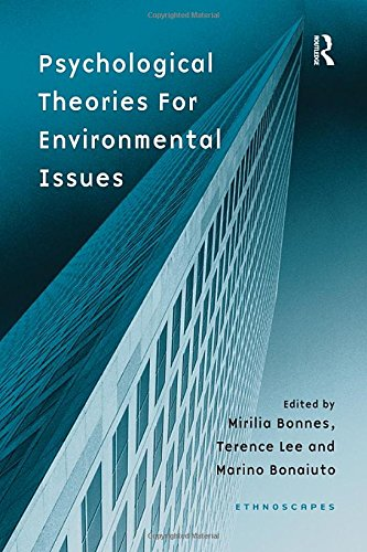 9780754618881: Psychological Theories for Environmental Issues (Ethnoscapes)
