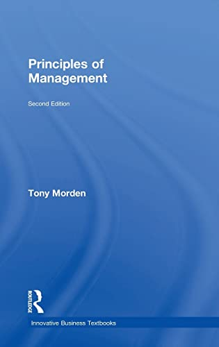 9780754619840: Principles of Management (Innovative Business Textbooks)