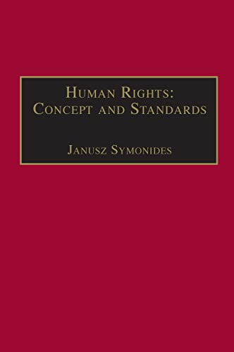 9780754620259: Human Rights: Concept and Standards (In Association with UNESCO)