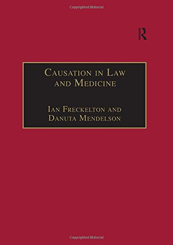 9780754622048: Causation in Law and Medicine